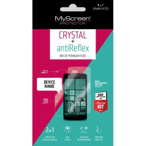 My Screen protector ZAŠČITNA FOLIJA LG K4 K120 ANTIREFLEX+CRYSTAL 2kos