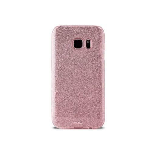 Ovitek Galaxy S7 bleščice roza zlat