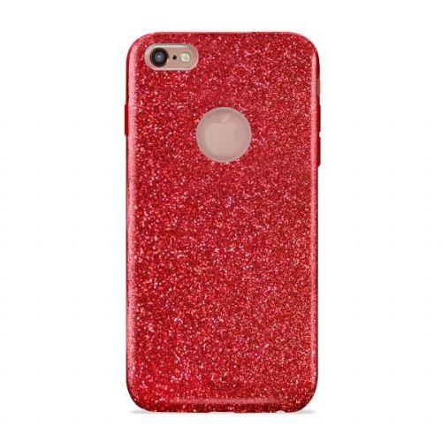 Ovitek iphone 6 plus bleščice rdeč