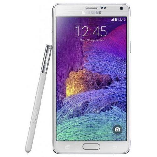 "Pametni telefon SAMSUNG Note 4 N910F bel 5,7"" / 1440x2560 / Snapdragon / 3GB / 32GB / Android KitKat 4.4"