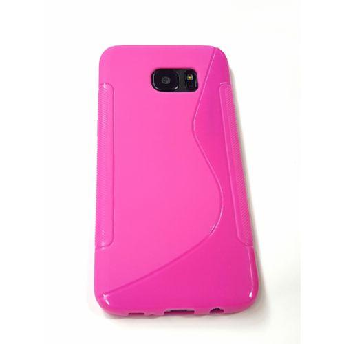 S silikonski ovitek Samsung Galaxy S7 Edge G935 pink