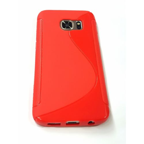 S silikonski ovitek Samsung Galaxy S7 G930 rdeč