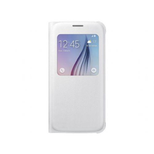 Samsung preklopna pametna torbica za GALAXY S6 (G920) bele barve (EF-CG920PWEGWW)