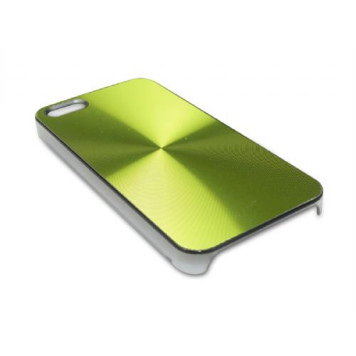 Sandberg Cover iPh 5/5S Alu Circle Green - 403-59