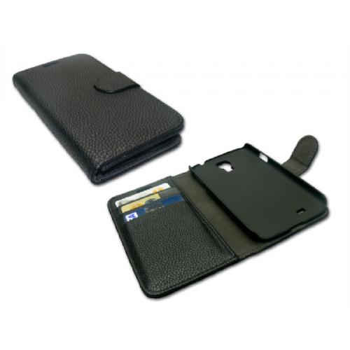 Sandberg Cover wallet S4 skin Black - 404-19