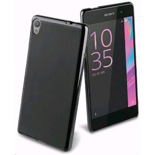 Sony torbica Simply Soft TPU Xperia E5 črna