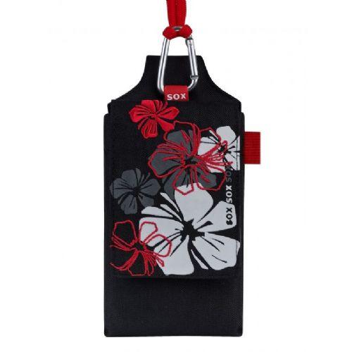 Sox modna torbica Hibiscus XL črna