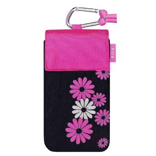 Sox modna torbica Spring XL črno roza